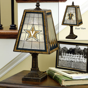 Vanderbilt Small Art Glass Lamp