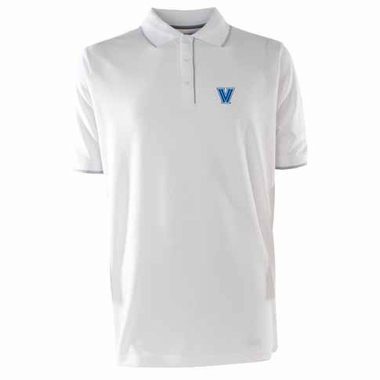 Villanova Mens Elite Polo Shirt (Color: White)