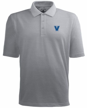 Villanova Mens Pique Xtra Lite Polo Shirt (Color: Gray)