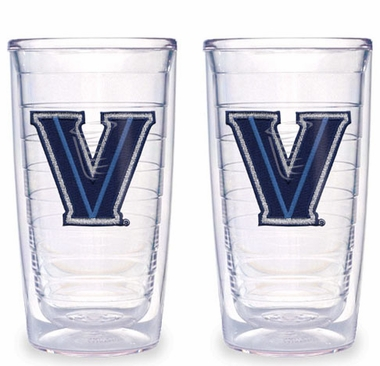 Villanova Set of TWO 16 oz. Tervis Tumblers
