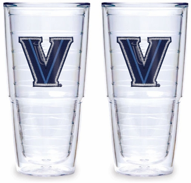 Villanova Set of TWO 24 oz. Tervis Tumblers