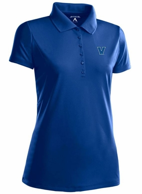 Villanova Womens Pique Xtra Lite Polo Shirt (Team Color: Royal)