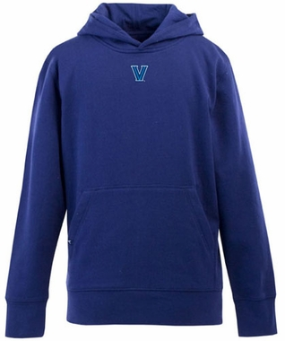 Villanova YOUTH Boys Signature Hooded Sweatshirt (Team Color: Royal)