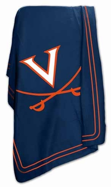 Virgina Classic Fleece Throw Blanket