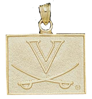 Virginia 10K Gold Pendant