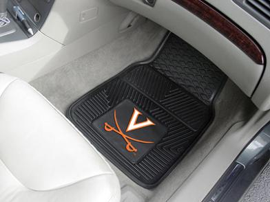 Virginia 2 Piece Heavy Duty Vinyl Car Mats