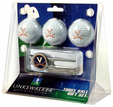 Virginia 3 Ball Gift Pack With Kool Tool