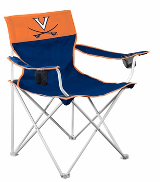 Virginia Big Boy Adult Folding Logo Chair