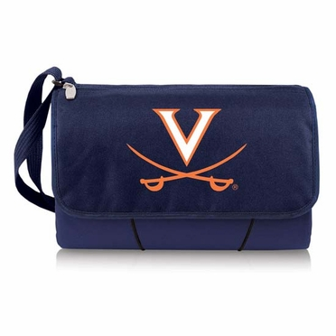 Virginia Blanket Tote (Navy)
