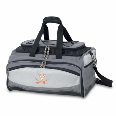 Virginia Buccaneer Tailgating Embroidered Cooler (Black)