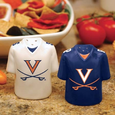 Virginia Ceramic Jersey Salt and Pepper Shakers