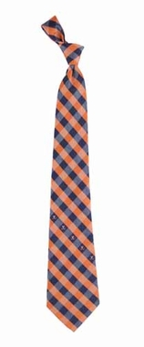 Virginia Check Poly Necktie