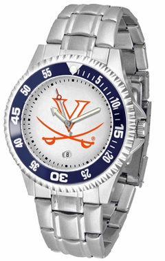 Virginia Competitor Men's Steel Band Watch