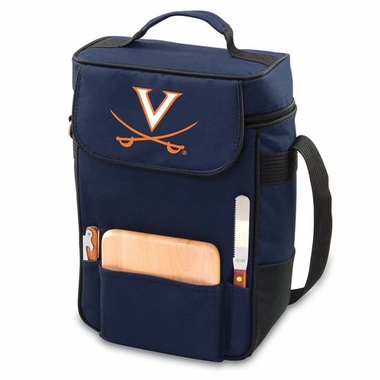 Virginia Duet Compact Picnic Tote (Navy)