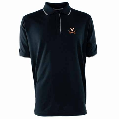 Virginia Mens Elite Polo Shirt (Color: Navy)
