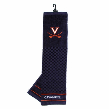 Virginia Embroidered Golf Towel