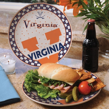 Virginia Gameday Ceramic Plate