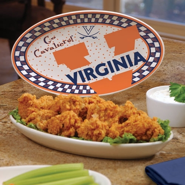 Virginia Gameday Ceramic Platter