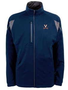 Virginia Mens Highland Water Resistant Jacket (Team Color: Navy) - Large