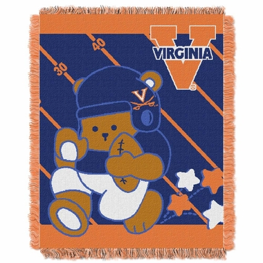 Virginia Jacquard BABY Throw Blanket