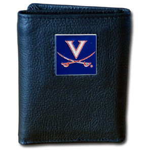 Virginia Leather Trifold Wallet (F)