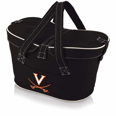 Virginia Mercado Picnic Basket (Black)