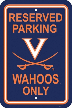 Virginia Plastic Parking Sign (P)