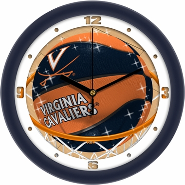 Virginia Slam Dunk Wall Clock