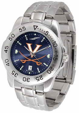 Virginia Sport Anonized Men's Steel Band Watch