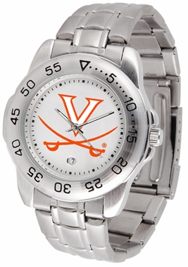 Virginia Sport Men's Steel Band Watch