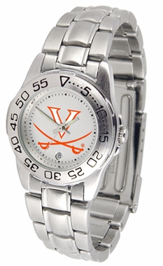 Virginia Sport Women's Steel Band Watch