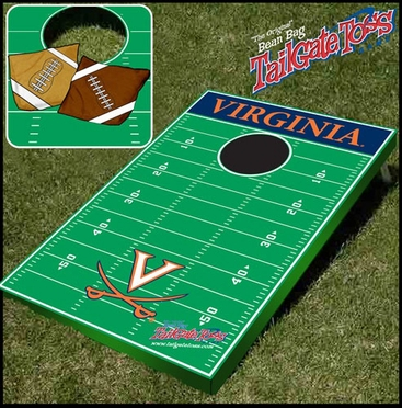 Virginia Tailgate Toss Cornhole Beanbag Game