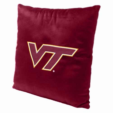 Virginia Tech 15 Inch Applique Pillow
