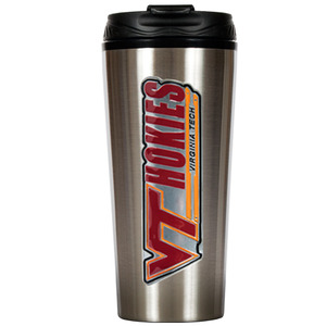 Virginia Tech 16 oz. Thermo Travel Tumbler