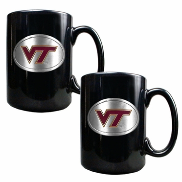 Virginia Tech 2 Piece Coffee Mug Set