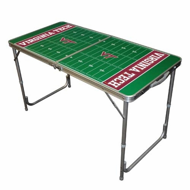 Virginia Tech 2 x 4 Foot Tailgate Table