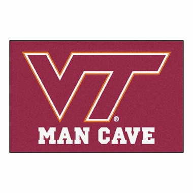 Virginia Tech 20 x 30 Man Cave Rug
