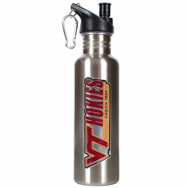 Virginia Tech 26oz Stainless Steel Water Bottle (Silver)