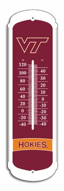 Virginia Tech 27 Inch Outdoor Thermometer (P)