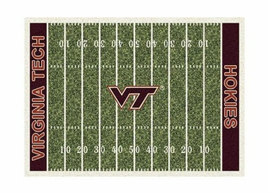 "Virginia Tech 3'10"" x 5'4"" Premium Field Rug"