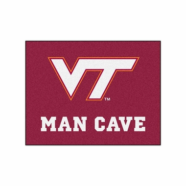 Virginia Tech 34 x 45 Man Cave Rug