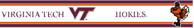 Virginia Tech 5.5 Inch (Height) Wallpaper Border