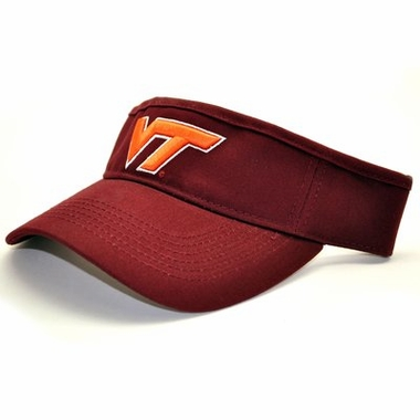 Virginia Tech Adjustable Birdie Visor