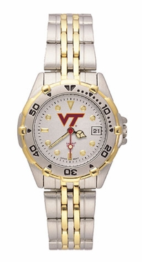 Virginia Tech All Star Womens (Steel Band) Watch