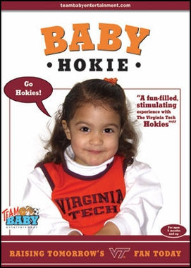 Virginia Tech Baby Hokie DVD