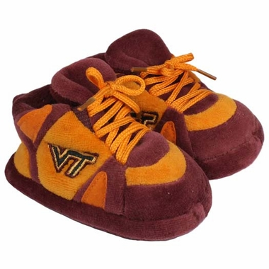 Virginia Tech Baby Slippers