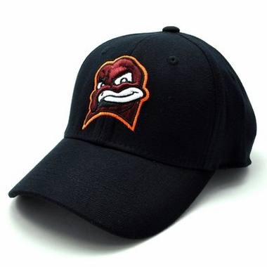 Virginia Tech Black Premium FlexFit Baseball Hat