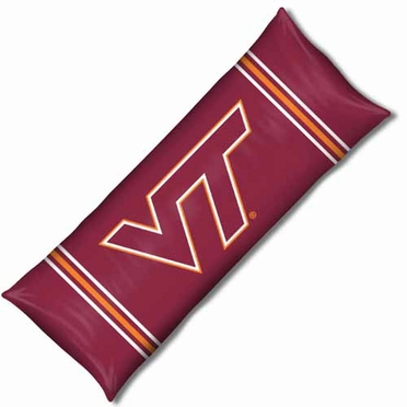 Virginia Tech Body Pillow