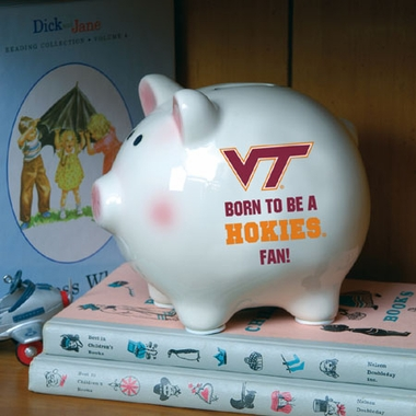 Virginia Tech (Born to Be) Piggy Bank