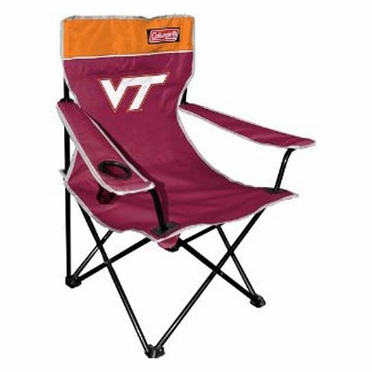 Virginia Tech Broadband Quad Tailgate Chair